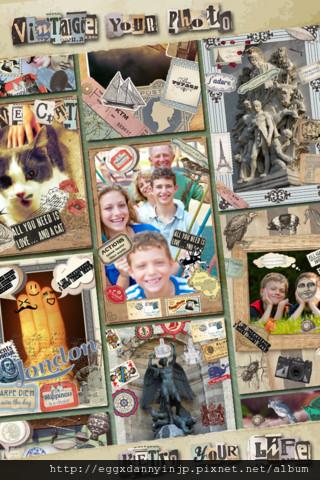 Vintage Deco 文具控必備的懷舊貼紙相片拼貼免費app4