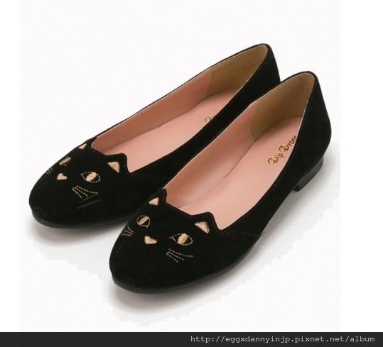 客人詢問款 - VIVI雜誌揭載♥ Dip Drops 可愛貓咪黑黑鞋