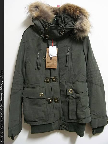 日本2012年SLY N3B短版軍大衣實品照