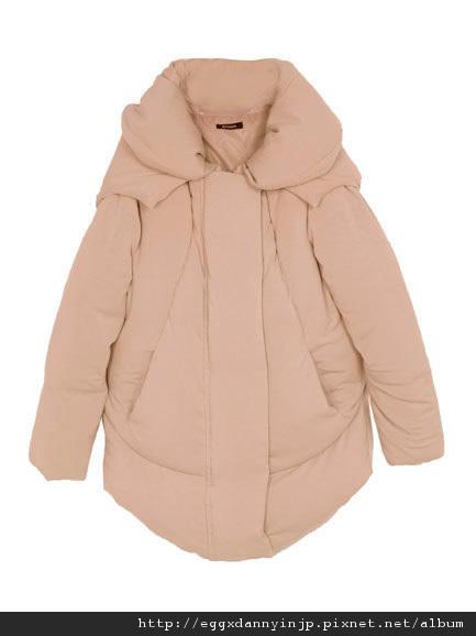 EMODA 10月預約商品 受不了毫無變化的羽絨外套了嗎?EMOD推出特殊剪裁羽絨外套!! 14