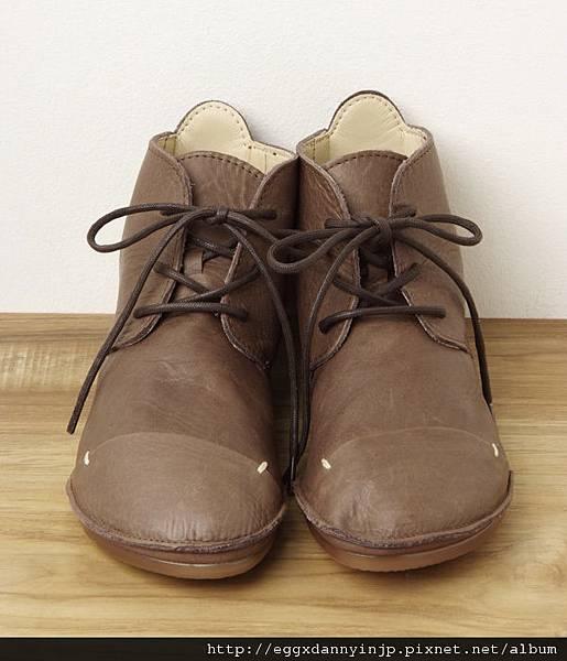 日本 D'knot 真牛皮綁帶便鞋 日本製【Liniere雜誌11月号掲載商品】1
