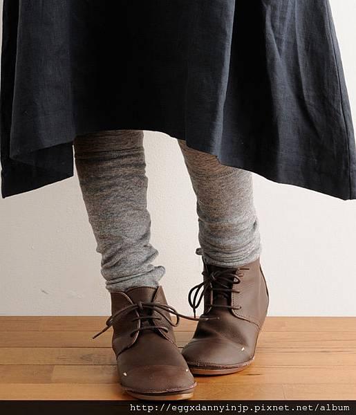 日本 D'knot 真牛皮綁帶便鞋 日本製【Liniere雜誌11月号掲載商品】 8