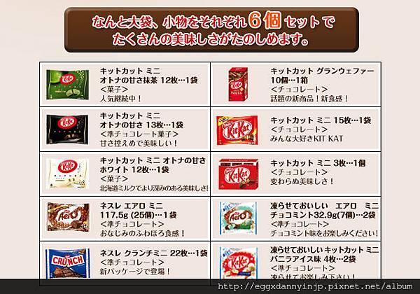 【2013日本新年福袋介紹特集-2】nestle 2013年日本雀巢限定超大餅乾糖果福箱 - 日本代購代買