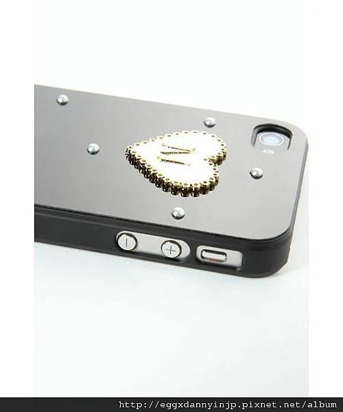 日本代購 lowrys farm Iphone4 4s  鑲金字母夢幻手機外殼 1