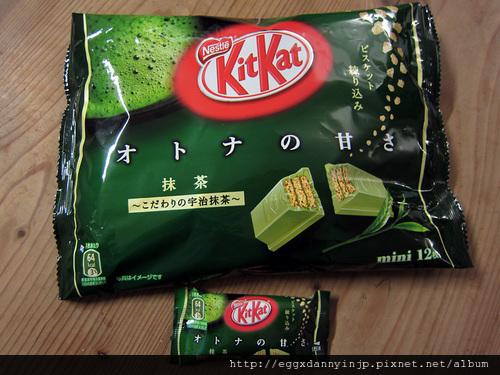 eggxdannyinjp - 日本糖果餅乾 雀巢nestle KitKat巧克力抹茶口味 3