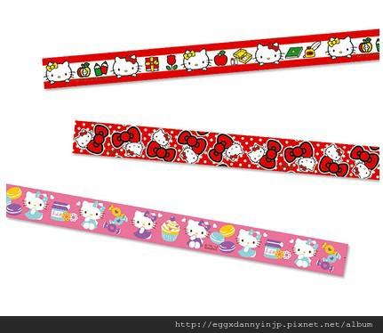 日本Sanrio三麗鷗人物和紙膠帶 2
