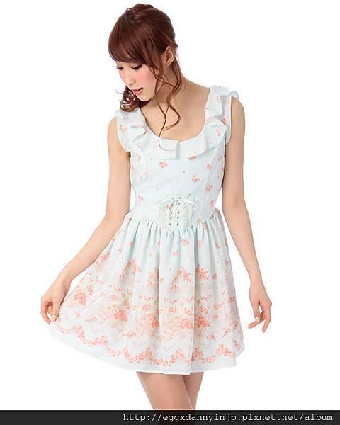 Liz Lisa2013春季浪漫無袖蕾絲洋裝11