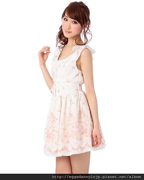 Liz Lisa2013春季浪漫無袖蕾絲洋裝2
