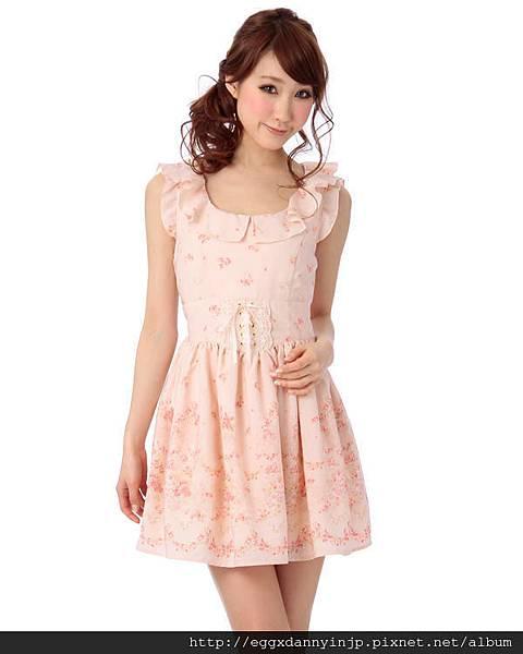 Liz Lisa2013春季浪漫無袖蕾絲洋裝10
