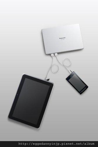 Panasonic USB 外接式行動電源 大容量 10260mAh 白 QE-QL301-W  2 NT.2650 含國內外運