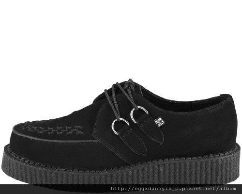 【雜誌KERA掲載品】 T.U.K.  黑色麂皮鞋 A7270 2 NT.8130含國內外運