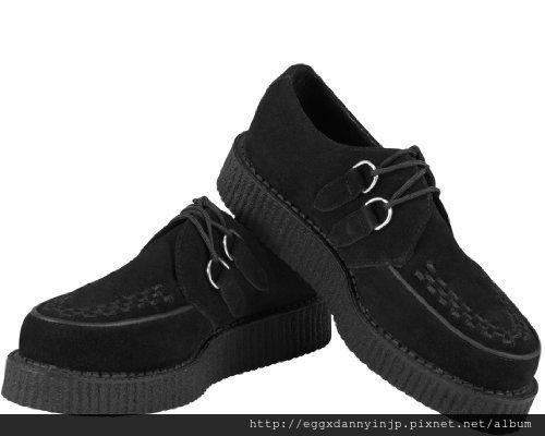 【雜誌KERA掲載品】 T.U.K.  黑色麂皮鞋 A7270  3 NT.8130含國內外運