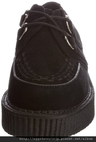 【雜誌KERA掲載品】 T.U.K.  黑色麂皮鞋 A7270  5 NT.8130含國內外運
