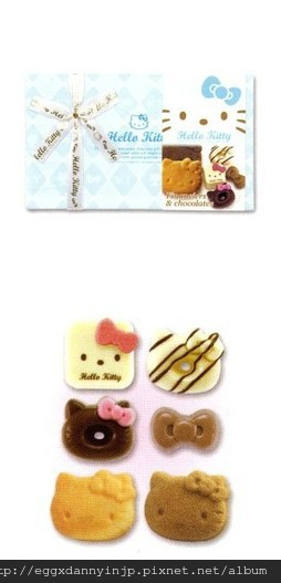 Hello Kitty 高級巧克力+餅乾綜合小禮盒 NT.400