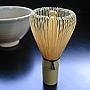 宇治抹茶 (茶筅(ちゃせん)80本立て 並)韓国製の茶筅