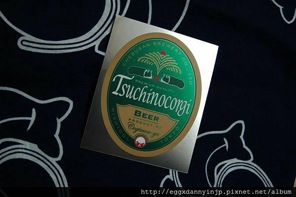 柯基啤酒貼紙2