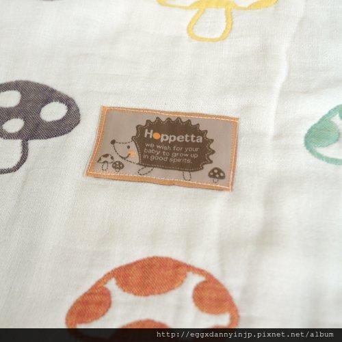 媽媽熱門詢問品 - 日本代購 Hoppetta 蘑菇防踢被子 毯子 日本製 M號 4