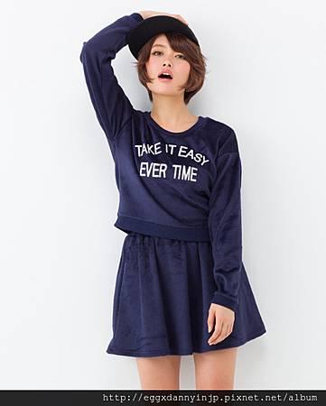 INGNI 英文字母上衣+裙子 2件式-1 NT.820.jpg