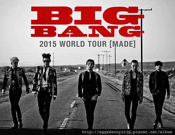 BIGBANG 2015 WORLD TOUR