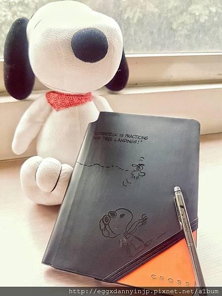【客人心得文】SNOOPY原[65週年]花生×CROSS筆記本和圓珠筆集 from mei大.jpg