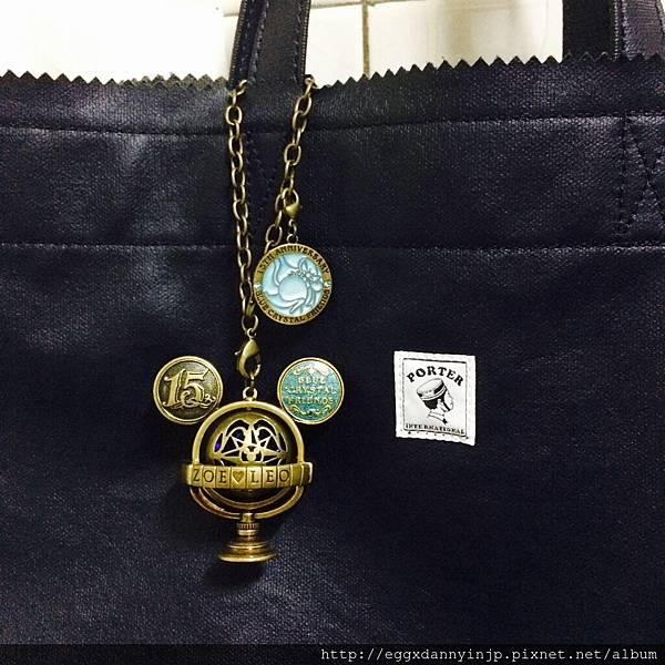【客人心得文】東京迪士尼海洋15周年限定地球儀造型吊飾 - from zoe大