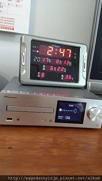 【客人開箱心得文】 Pioneer XC-HM86擴大機 for YU大 (日本代購先鋒牌 網路串流 無線 擴大機 Bluetooth)-1