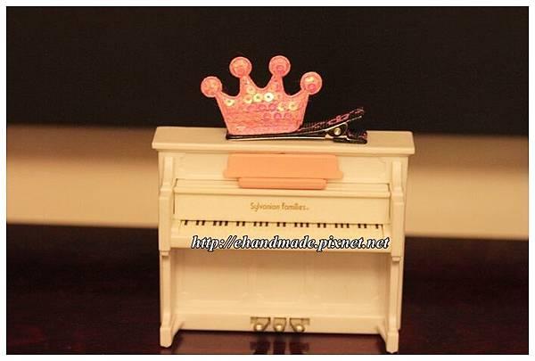 324號的淺粉色小皇冠