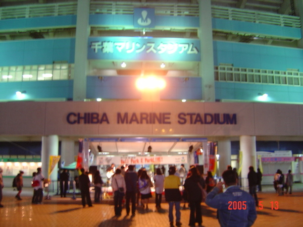 千葉羅德海洋球場(夜景)