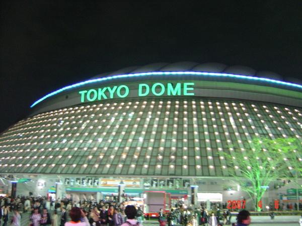 東京巨蛋(夜景)