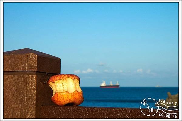 20050816 南方澳 蘋果與船