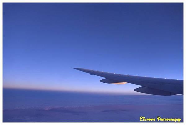 機上看日出