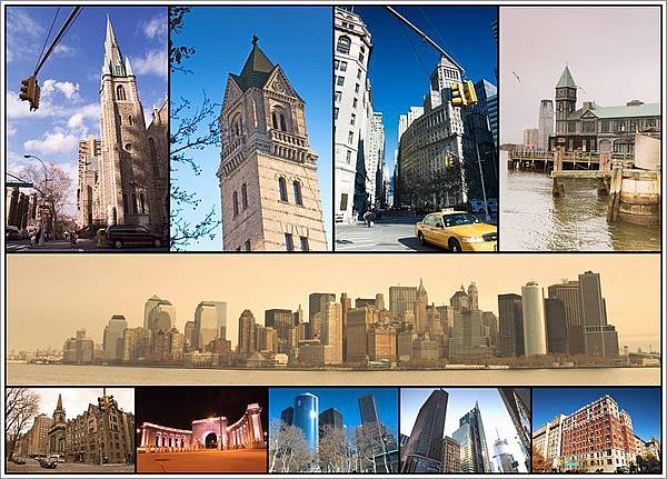 各有特色的建築