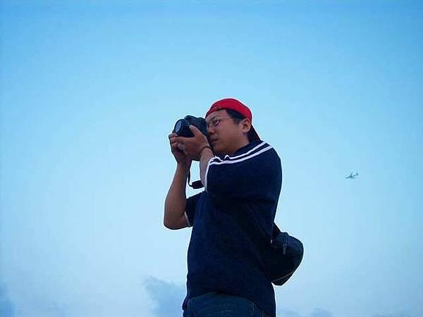 天空下的攝影人