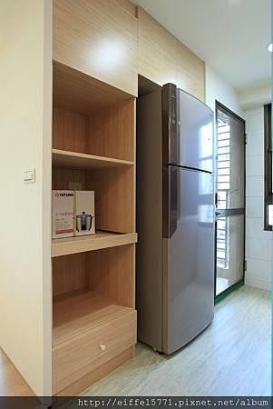 拆除隔間牆放冰箱及電器櫃IMG_2648