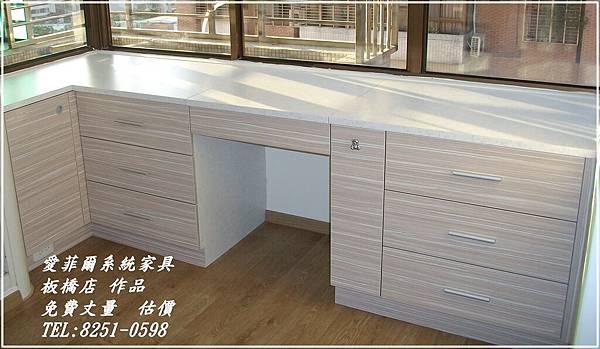 系統家具    上掀式化妝桌及 斗櫃1.JPG