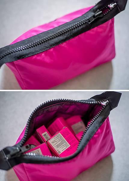 3CE_粉紅_化妝包