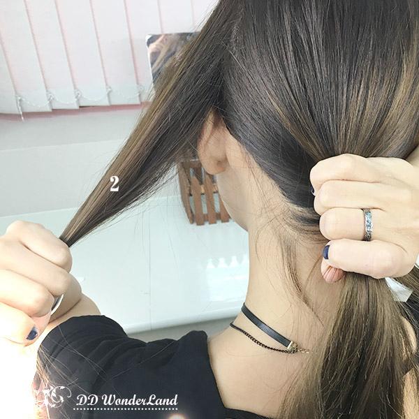 9頭髮_低馬尾_免橡皮筋_馬尾_綁頭髮.jpg