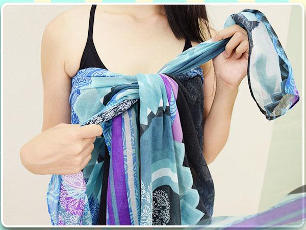 夏日穿搭_洋裝_絲巾_絲巾變洋裝_海灘風_比基尼09.jpg