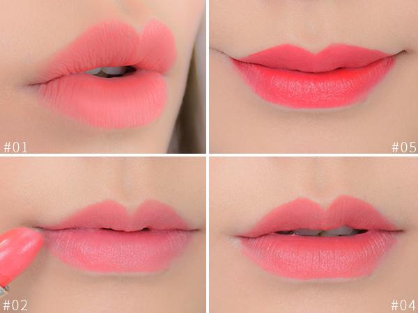 漸層花瓣唇 咬唇妝 乾燥玫瑰唇 唇妝教學 唇彩畫法 唇膏開箱 Bbia金色玫瑰珍藏唇膏