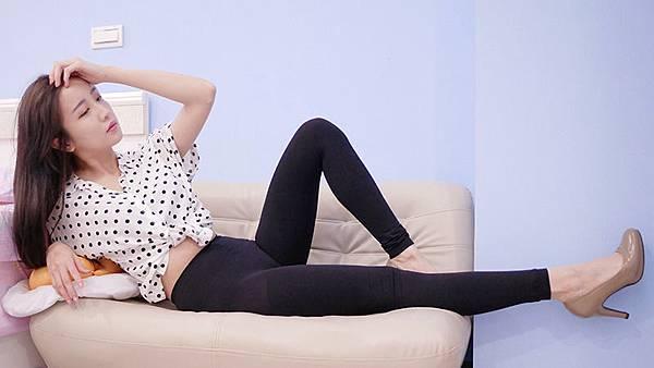 美體 細腰 翹臀 纖腿 V.VIENNA 微微安娜 推脂纖腿緊緻九分褲襪