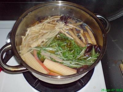 無油料理--味增蔬菜鍋