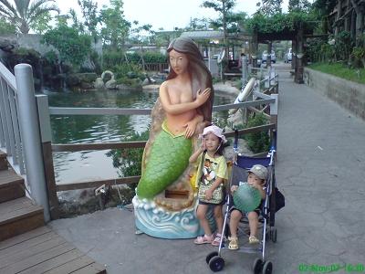 綠色美人魚-飼料販賣機