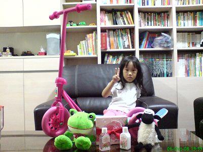 小小妞4歲生日禮物