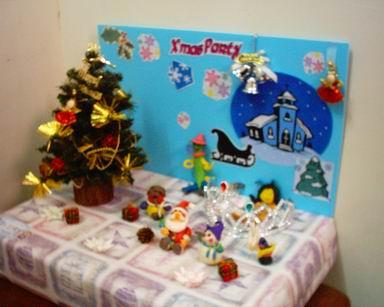 「聖誕PARTY」創作舞台