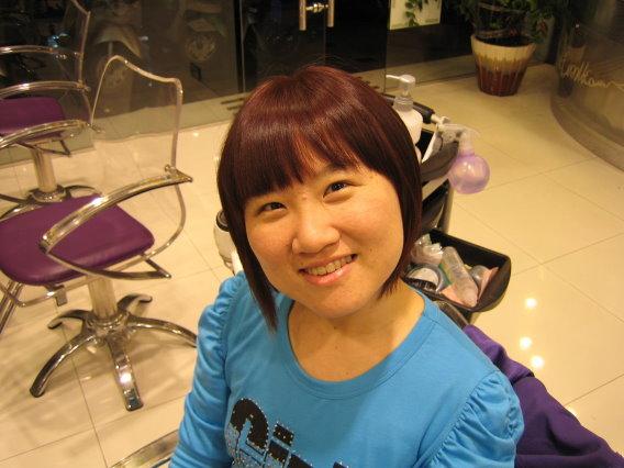 變髮~巧克力粉紅色.JPG