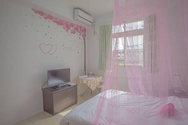202房-粉紅愛戀雙人套房