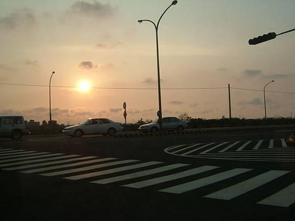四草大橋的道路