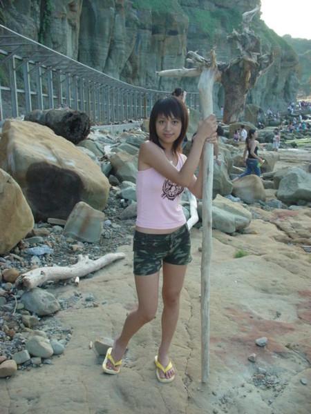 930918和平島-颱風過後撿到大權杖