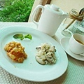 西班牙海鮮燉飯+蘑菇雞肉麵