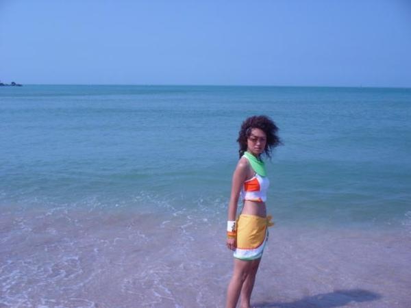 到白沙灣了